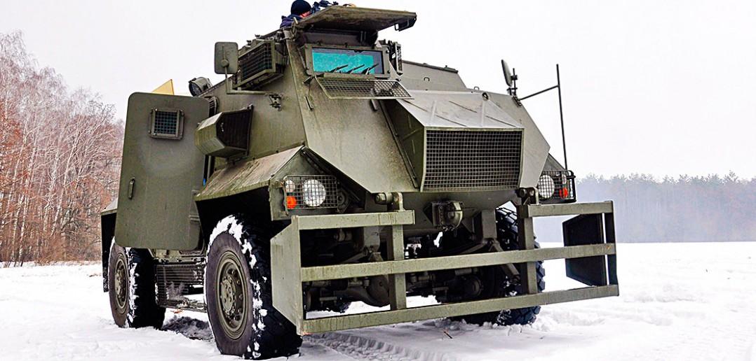Transportery opancerzone Saxon na Ukrainie