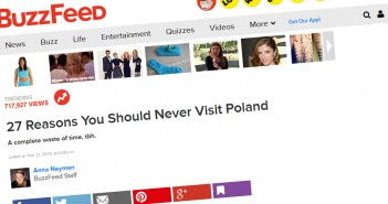 27 powodów żeby nie odwiedzać Polski