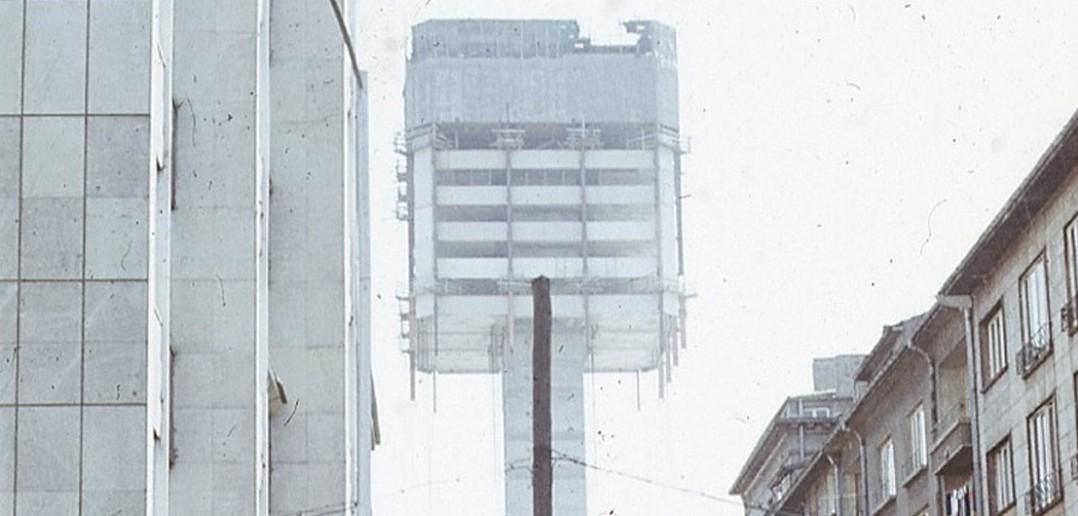 Nietypowy wieżowiec w Sofii