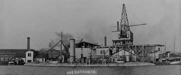 USS Katahdin po wycofaniu w październiku 1898 roku