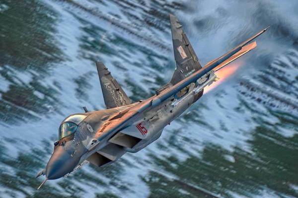 Polski MiG-29 (fot. CC DO RSZ)