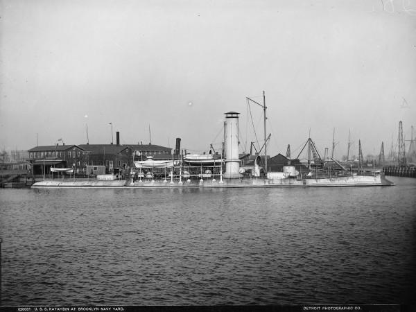 USS Katahdin w 1901 roku