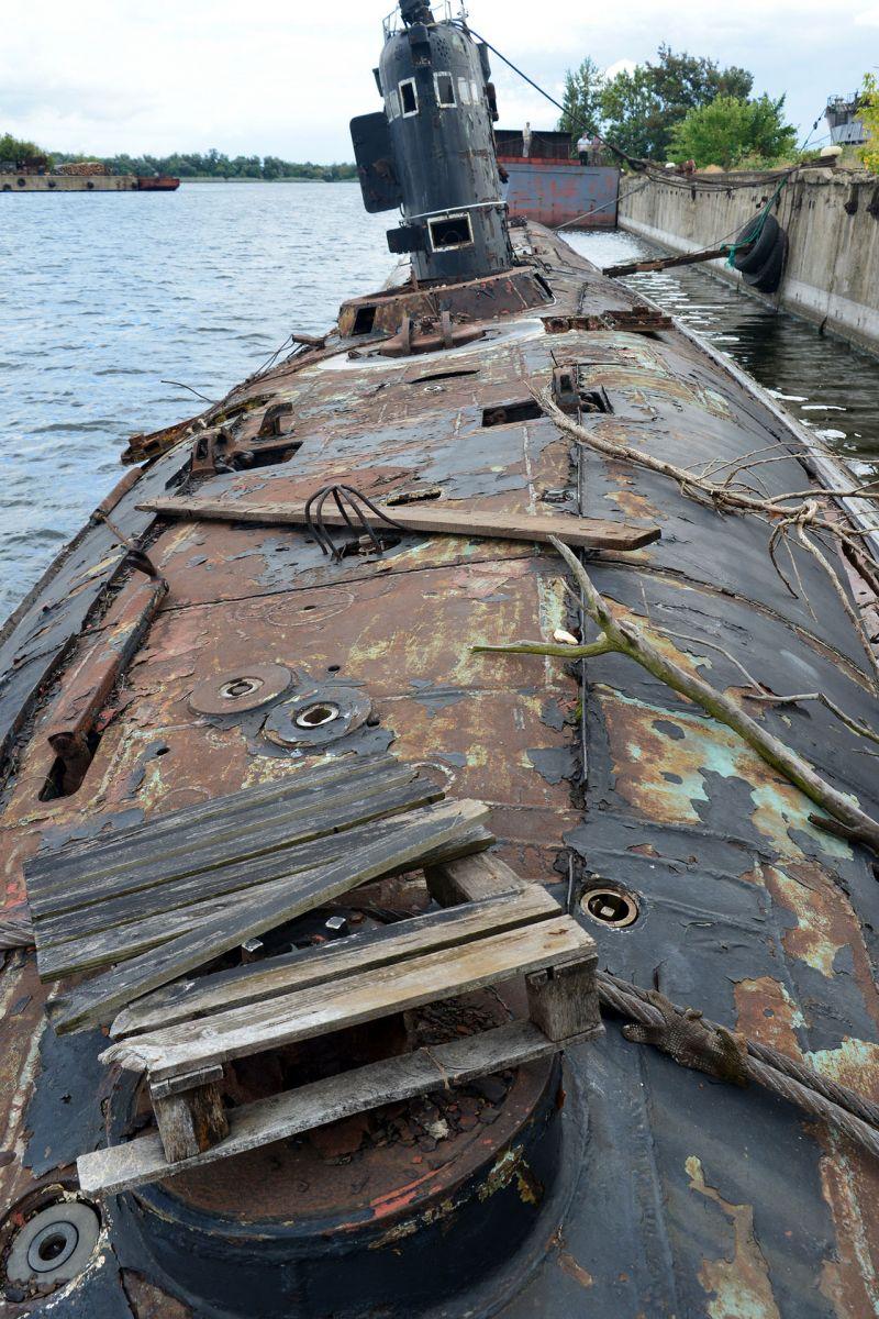 кладбище подводных лодок в севастополе