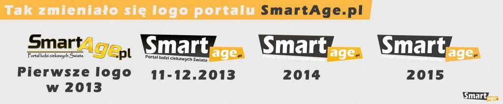Tak zmieniało się logo portalu SmartAge.pl