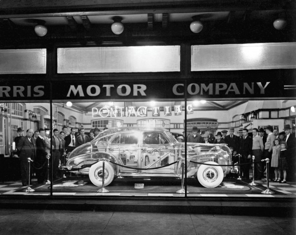 Pontiac Ghost Car podczas wystawy w 1939 roku