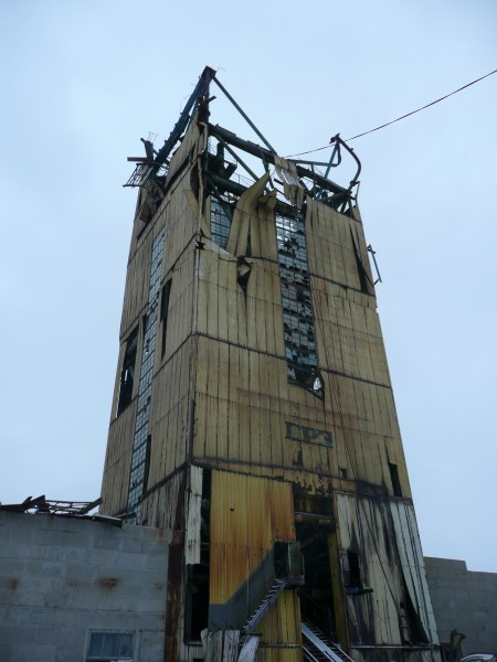 Wieża wiertnicza dzisiaj