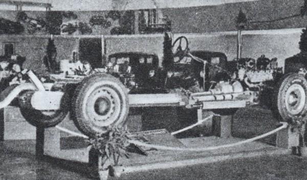 Podwozie samochodu Lux - Sport (fot. W. Rychter)