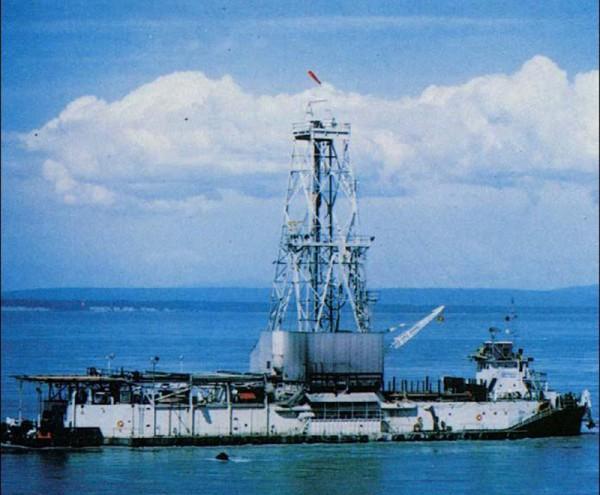 CUSS I - statek-platforma wykorzystywany podczas Projektu Mohole