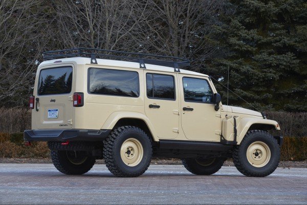 Jeep Wrangler Africa Concept (fot. Jeep)