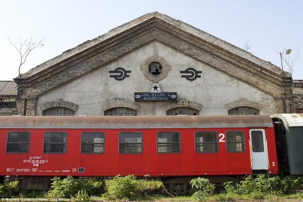Składnica kolejowa w Istvántelek (fot. Mathew Growcoot)