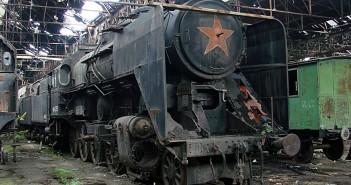 Cmentarzysko pociągów w Budapeszcie
