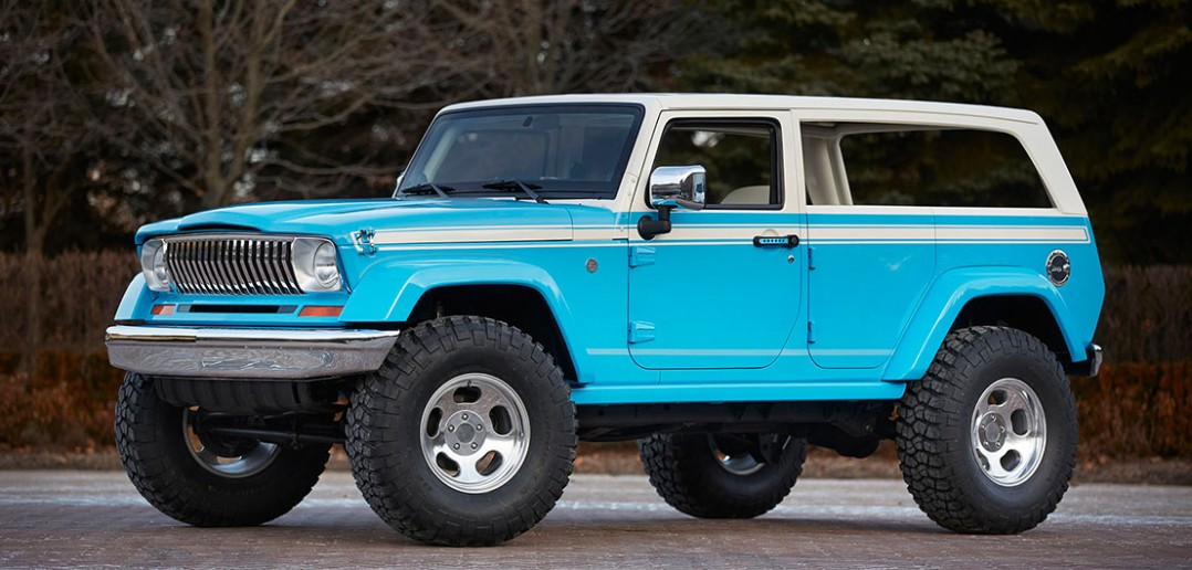 Easter Jeep Safari 2015 - koncepcyjne modele Jeepa