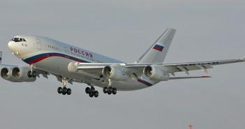 Ił-96 obecnie używany jako samolot prezydencki