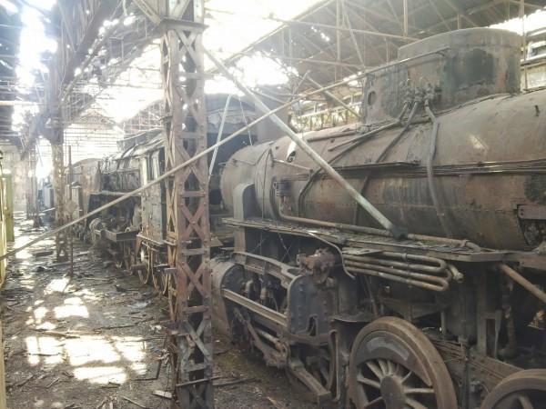Składnica kolejowa w Istvántelek