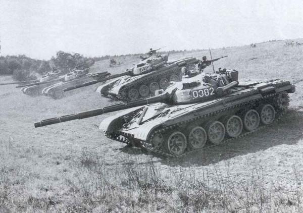 Pierwsze T-72 w Polsce podczas manewrów
