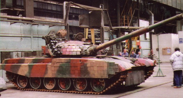 Jeden z pierwszych wyprodukowanych PT-91 (fot. Tomasz Szulc)