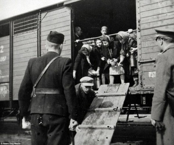 Tak wywożono Żydów z Węgier