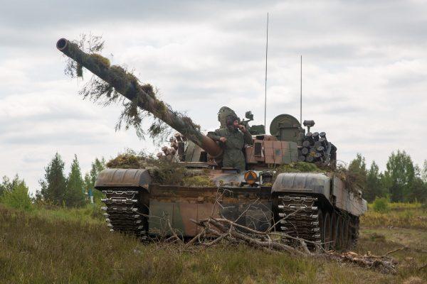PT-91 Twardy (fot. Spc. Matthew J. DeVirgilio)