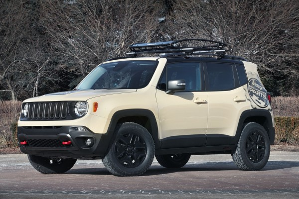 Jeep Renegade Deser Hawk (fot. Jeep)
