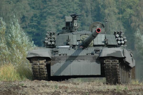PT-91Ex Twardy (fot. Bumar Łabędy)