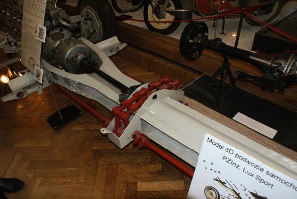 Podwozie samochodu Lux - Sport (fot. M. Stefaniak)