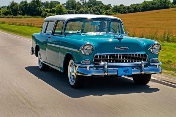 Chevrolet Nomad z 1955 roku - z nowatorskiego konceptu nie zostało nic