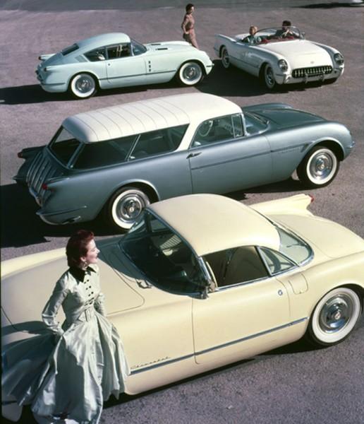 Koncepcyjne modele Chevroleta z 1954 roku