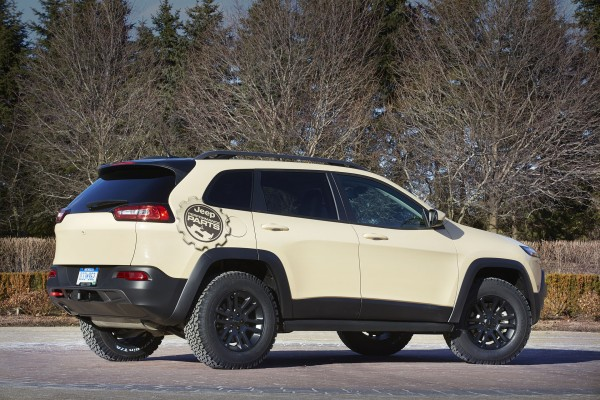 Jeep Cherokee Canyon Trail (fot. Jeep)