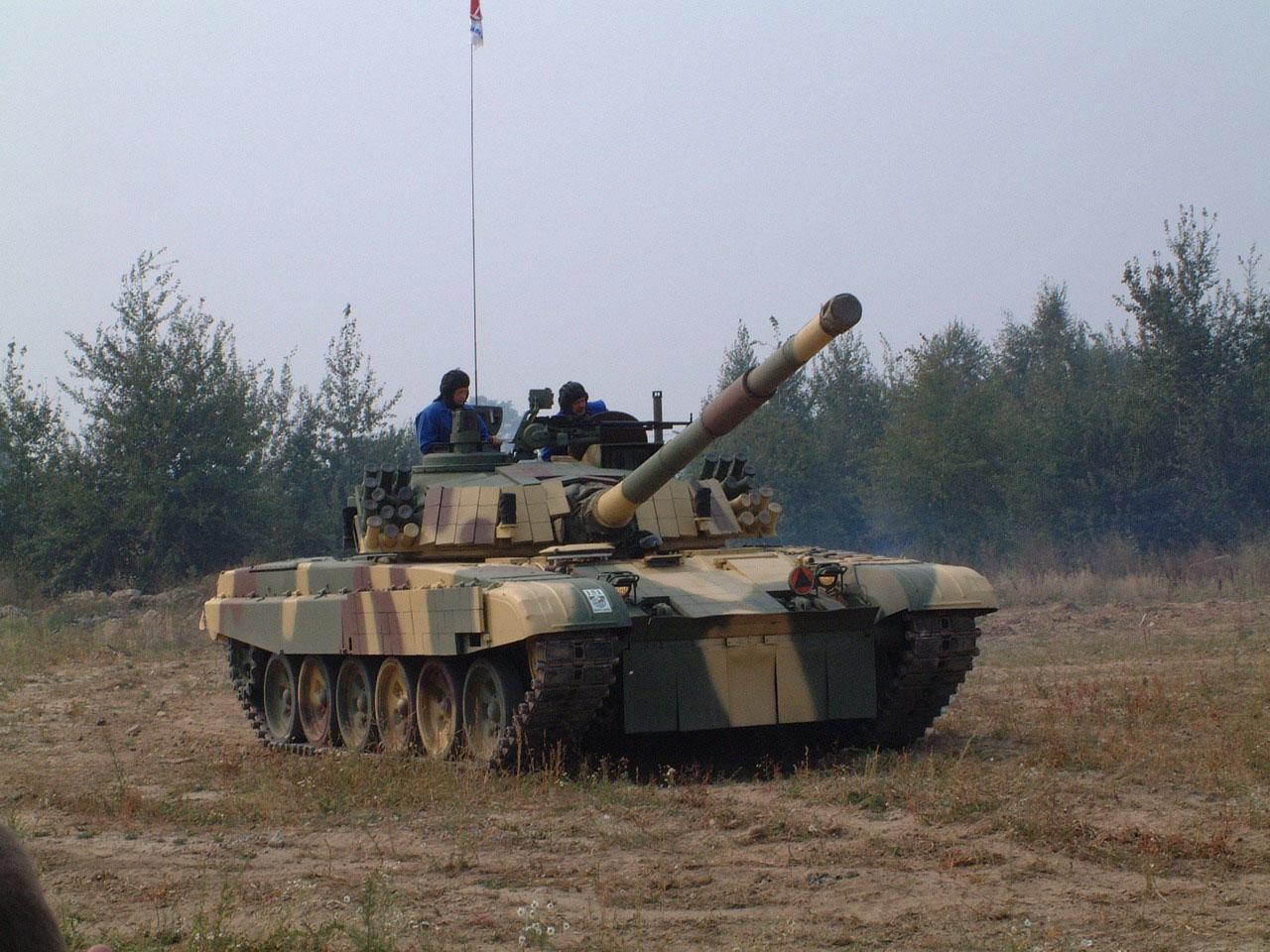 PT 91M Malaj Podczas Prb
