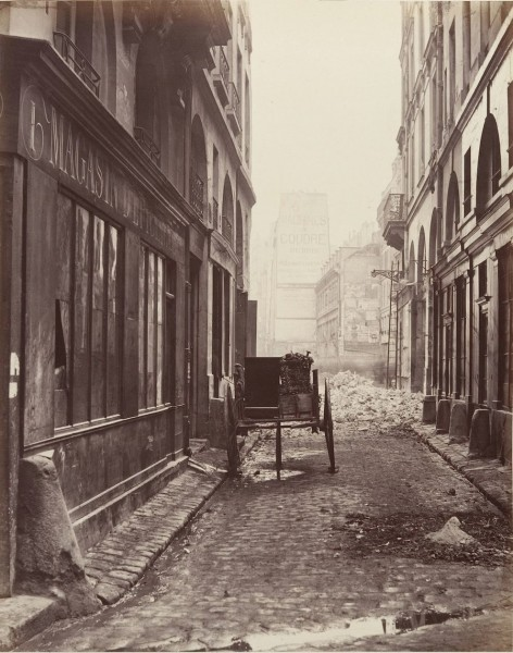 Rue Estienne 1862-1865 (fot. Charles Marville)