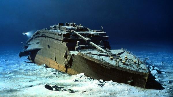 Wizja artystyczna wraku Titanica