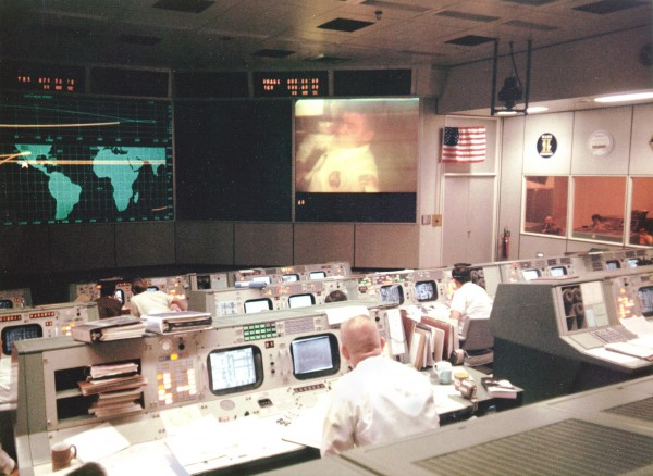 Centrum konstroli lotów podczas lotu Apollo 13
