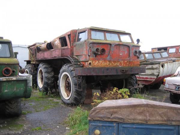 Ził-E167 przed renowacją