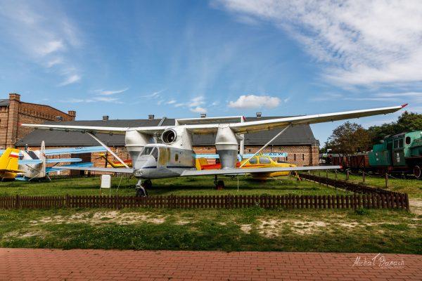 PZL M-15 Belphegor w Muzeum Narodowym Rolnictwa i Przemysłu Rolno-Spożywczego w Szreniawie (fot. Michał Banach)