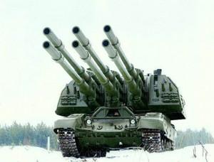 Artyleria samobieżna Koalicja-SW (fot. battlebrotherhood.com)