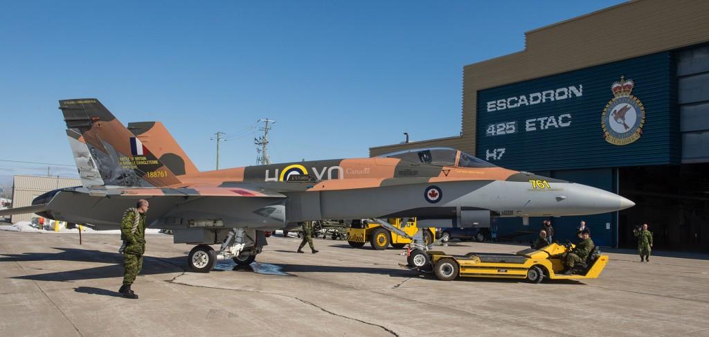 CF-18 Hornet Demo (fot. Alex Roy)