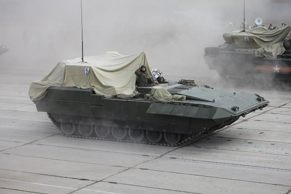 Ciężki bojowy wóz piechoty T-15 Armata (fot. Wikipedia)