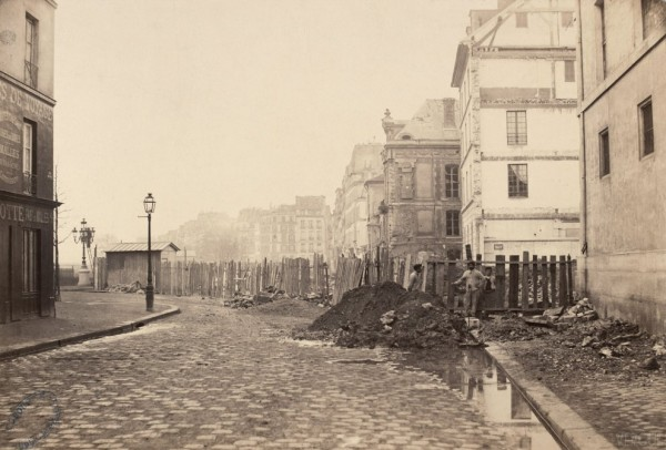 Rue de Sully 1876 (fot. Charles Marville)