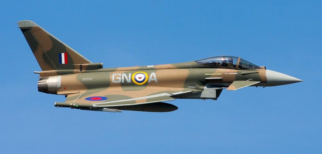 Eurofighter Typhoon w malowaniu z okazji 75 rocznicy bitwy o Anglię (fot. Gary Parsons)