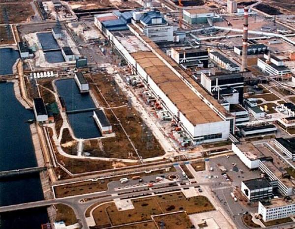 Elektrownia atomowa w Czarnobylu (fot. Pegas163/speedfreak.ru)