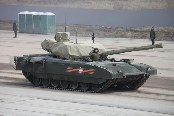 Nowy czołg FR - T-14 Armata (fot. Wikipedia)