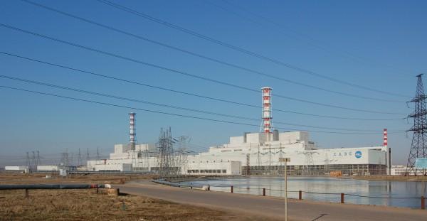 Elektrownia atomowa w Smoleńsku - trzy reaktory RBMK-1000 (fot. Wikipedia)