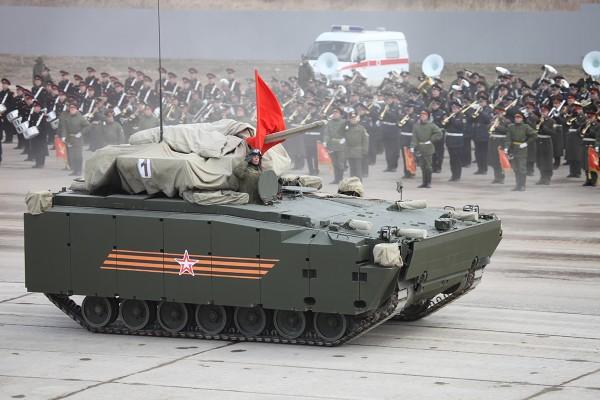 Bojowy wóz piechoty Kurganets-25 (fot. Wikipedia)