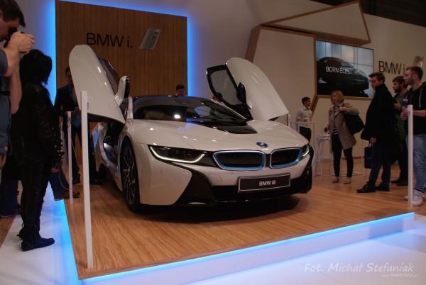 BMW i8 (fot. Michał Stefaniak)