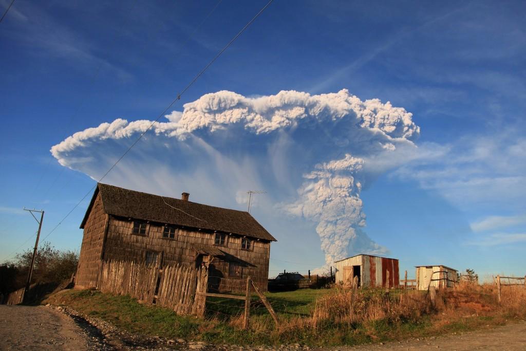 Erupcja wulkanu Calbuco (fot. Diego Main)