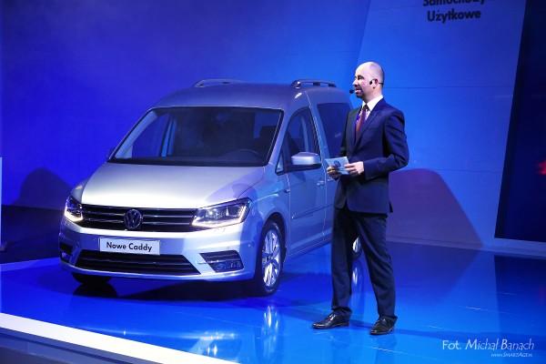 Volkswagen Caddy (fot. Michał Banach)