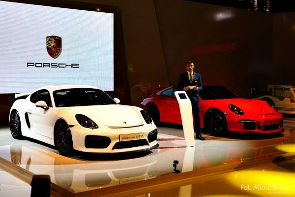 Porsche Cayman GT4 i 911 GT3 (fot. Michał Banach)
