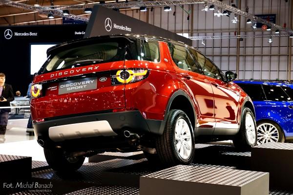 Land Rover Discovery Sport (fot. Michał Banach)