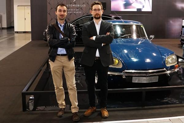 Doborowa ekipa z naszej redakcji (Michał Banach - z lewej i Michał Stefaniak - z prawej)