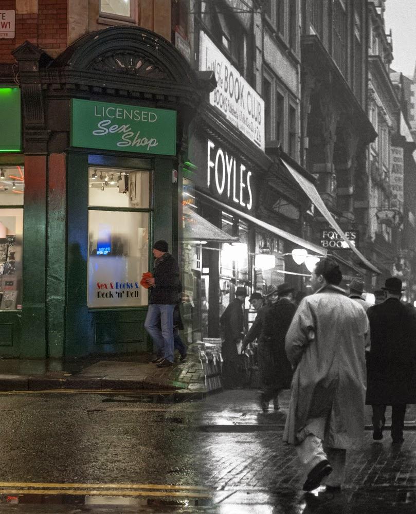 Charing Cross - ulica ta słynie z antykwariatów (fot. Wolfgang Suschitzky)